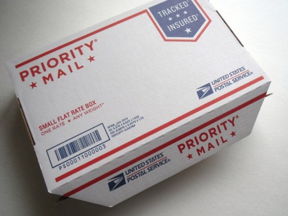 Shipping Upgrade Priority Mail USA Small Flat Rate Box