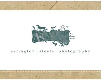 Custom Logo Design - PreDesigned Logo - PreMade Logo - Vector Logo - OOAK Logo - ARRINGTON Logo Design - Bird Logo - Vintage Modern Logo