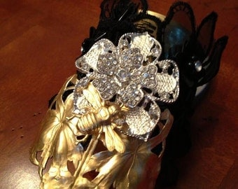 Vintage Inspired Cuff Bracelet