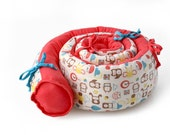 """Mezoome  - Baby """"Snake"""" bed bumper - Special Free shipping offer!"""