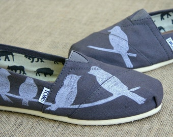 Birds on a Wire TOMS shoes