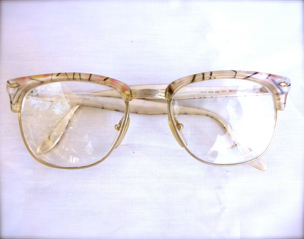 Eyeglass Frames Italian Company : Retro eyewear 80s does 50s eyeglasses Italian designer