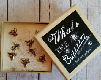 Bumblebee Push Pins