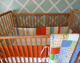 Planes, Trains, Cars  crib bedding set