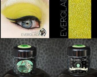 Matte Green Eye Shadow  - Loose Eyeshadow - Scaredy Cat - Everglade - 5 mL Sifter