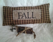 Primitive Nook Fall Pillow and Grungy Clothes pin Bundle OFG FAAP