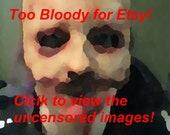 Eric - Skinned Horror Head Mask / Hat