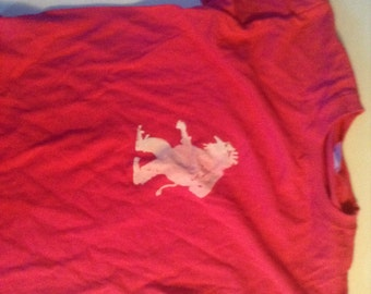 Norwegian Troll Shirt Youth Medium bright Pink