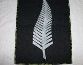 Silver Fern Wall Hanging / Table Mat
