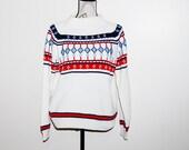Vintage Sweater Retro  Drops
