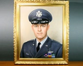 Oil Painting Portrait of U.S. Airforce Colonel