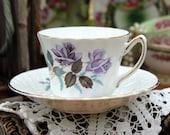 Kendall Bone China Teacup Tea Cup and Saucer 11363