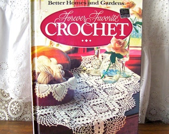 Vintage Crochet Favorites Better Homes and Gardens Book 1986 Crochet Patterns Home and Family