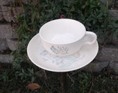 Bird Feeder - Tea Cup Upcycled Garden Decor
