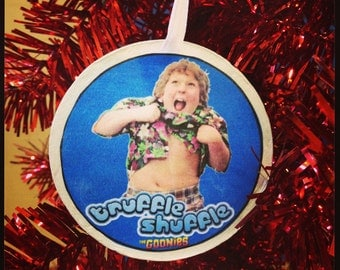 The Goonies- Chunk Doing the Truffle Shuffle Ornament