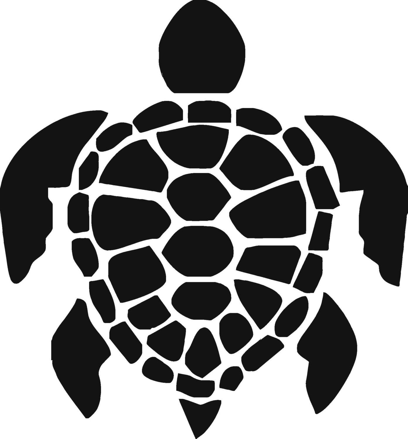 Turtle Vinyl Decal T19