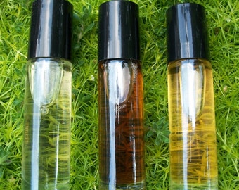 Any Fragrance Perfume Oil Roll On 1/3 Ounce and one free sample of your choice