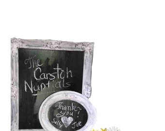Shabby Chic Wedding or BEACH blackboards