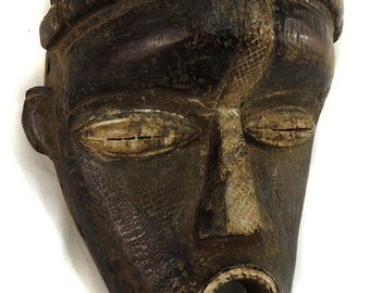 Bassa Forehead Mask (Geh naw) Liberia Africa  84561
