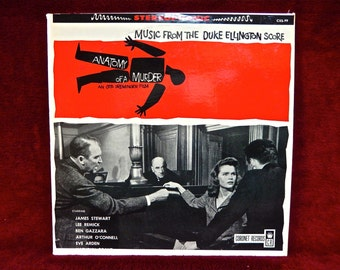 ANATOMY of a MURDER - Motion Picture Soundtrack - 1959  Vintage Vinyl Record Album
