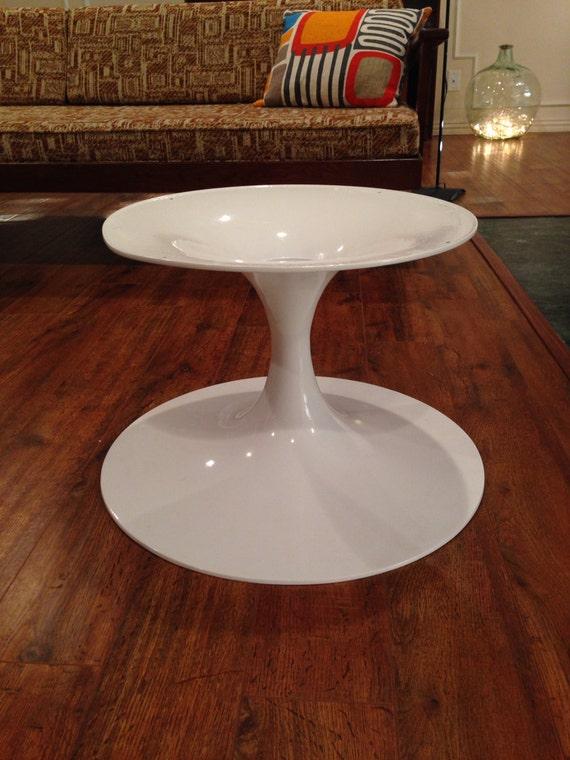 Early Version Of A Knoll Eero Saarinen Tulip Coffee Table Base