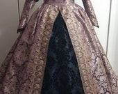 Renaissance gown/dress with French Hood (Headpiece) Reserved