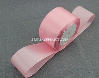 Pink Ribbon Terylen Lace Trim 1.96 Inches Wide 22 meters