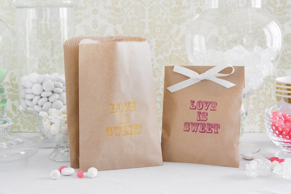 Items Similar To Paper Candy Bar Bags