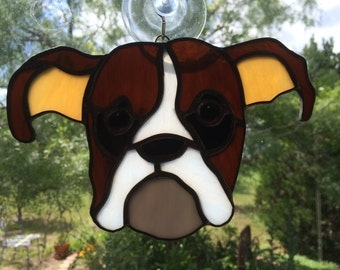 Stained Glass Boxer