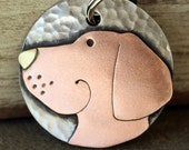 Dog Tag - Dog ID Tag - Pet Tag - Dog Tags Custom-Lab- breed tag or key chain