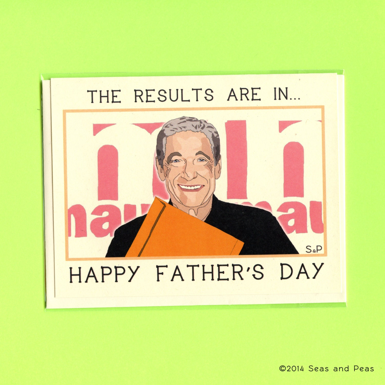 Funny Fathers Day Quote: MAURY POVICH Father's Day CARD Funny Father's Day