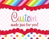 Custom listing for Karina Janzen ONLY