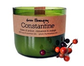 Wine Bottle Soy Candle - Constantine 5oz.