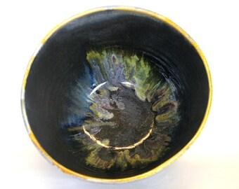 Dark Earth Rainbow Serving Bowl