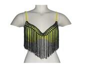 Customized Bra, fringed top, fringe bra