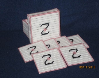 The letter Z coasters