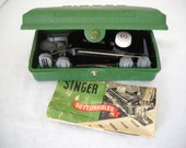 Singer 1940's Buttonholer Sewing Machine Attachment With 7 Templates