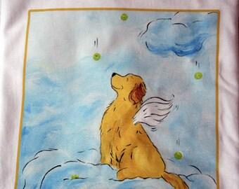 Golden Retriever Angel T shirt