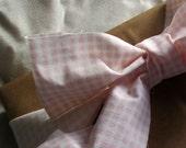 Vintage Sheet Fabric Ribbon - 2 Yards
