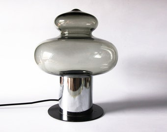 Modernist Glass Table Lamp - Raak 60s