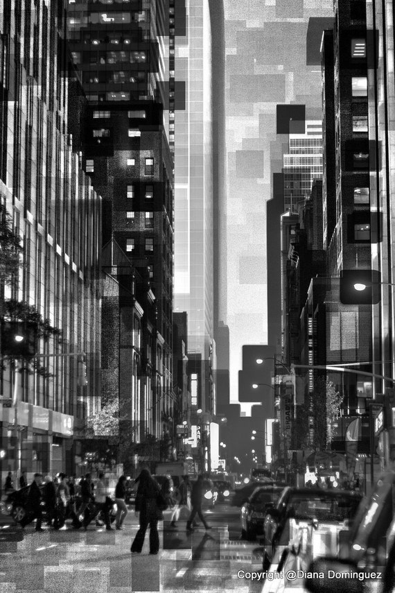 Street View Drawing New York City Street View