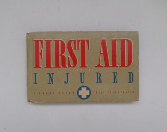 Vintage First Aid Book