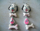 Tiger Lily Puppy Dog Earrings - Show Your Love of Dogs