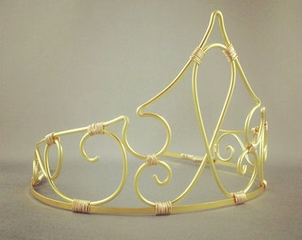 Aurora -  Sleeping Beauty Crown Fairy Tale Tiara Aurora Costume - Made to Order