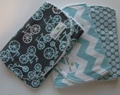 Boy's Burp Cloth-Set of 3-All Boy Collection