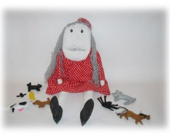Old Woman Who Swallowed a Fly Sewing Pattern