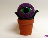 EyePod Mega Amigurumi Potted Plant