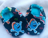 Baby Booties  -  Monsters!