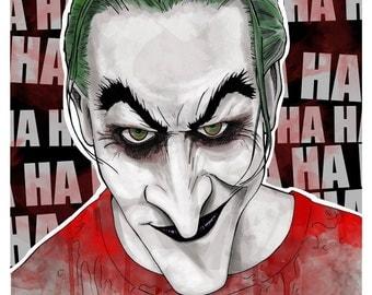 Batman: Dead End JOKER  Routine 11x17 Digital print