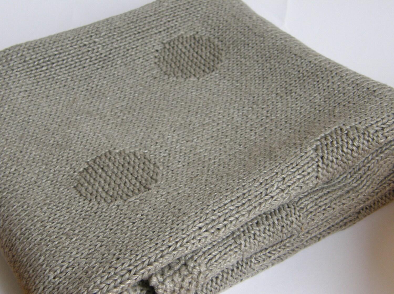 organic baby blanket linen blanket knit baby blanket linen. Black Bedroom Furniture Sets. Home Design Ideas